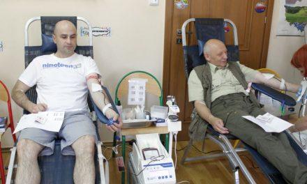 Gorąca akcja krwiodawstwa Klubu HDK PCK Lipinki