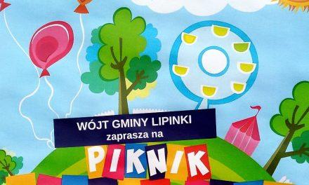 Wnajbliższą niedzielę Piknik Rodzinny wLipinkach
