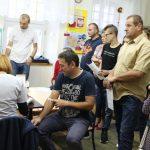 Blisko 40 krwiodawców wsparło druha OSP Bobowa Ryszarda Ziomka