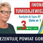 Iwona Tumidajewicz kandydatem doSejmu RP zlisty PSL Koalicja Polska