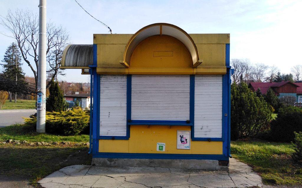 Kiosk RUCHU znika zprzestrzeni publicznej Lipinek?
