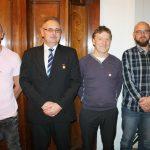 Wpałacu wSiarach krwiodawcy Klubu HDK Lipinki odebrali zaszczytne wyróznienia