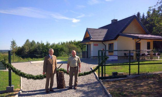 Leśnictwo Pagorzyna ma nową leśniczówkę
