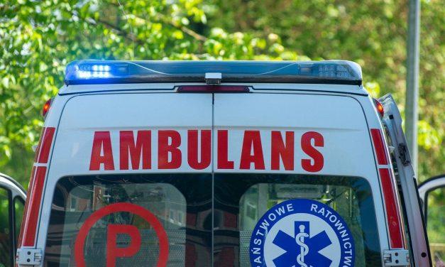 Bieccy policjanci interweniowali wKrygu, ratując tracącą przytomność kobietę
