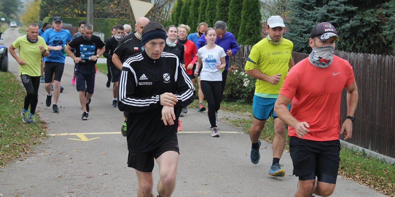 ULKS Lipinki uczcił 25-lecie treningiem biegowym naCieklinkę