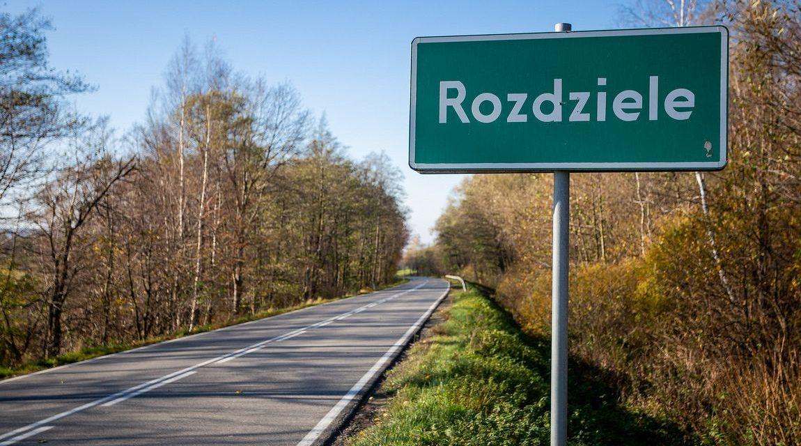 Droga powiatowa Rozdziele – Sękowa czasowo zamknięta