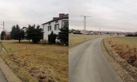 W2020 remont 2,5 km gminnych dróg wramach Funduszu Dróg Samorządowych