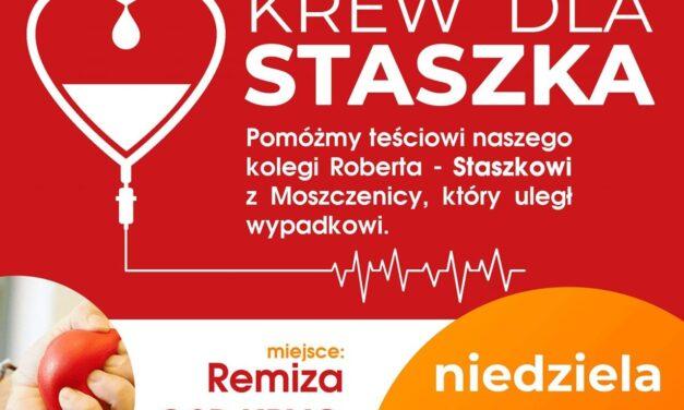 OSP Kryg: Krew dla Staszka! Ty także możesz pomóc!