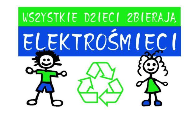 """Szkoła Podstawowa wWójtowej zaprasza doudziału wakcji: """"Wszystkie dzieci zbierają elektrośmieci""""!"""