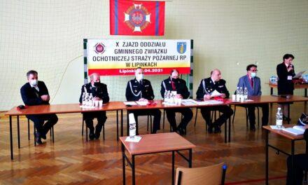 Dh Piotr Mika wybrany Prezesem ZOG ZOSP Lipinki nakolejną kadencję