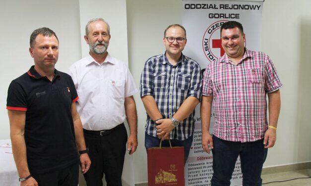Gorlicka Gala Honorowych Dawców Krwi PCK: Odznaczenia inagrody dla krwiodawców Klubu HDK PCK Lipinki