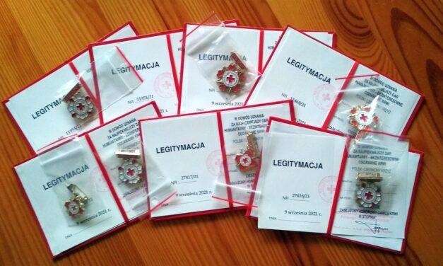 Grad wyróżnień dla krwiodawców Klubu HDK PCK wLipinkach